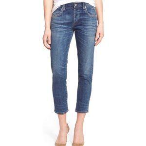 COH Elsa Slim Fit Mid Rise Crop Jeans. Size 24.